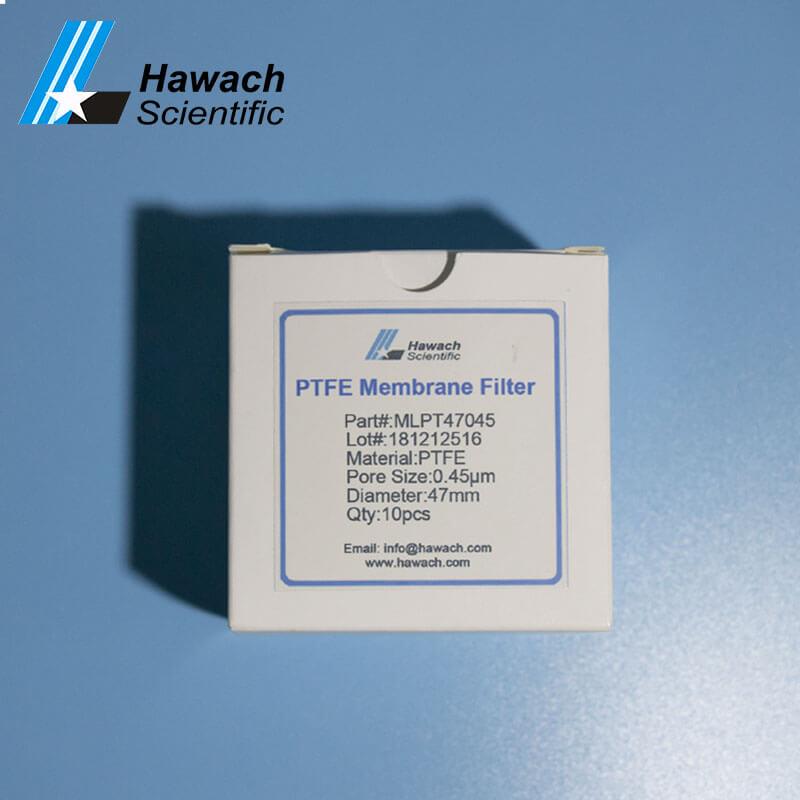 0,22 гидрофобный PTFE мембранный фильтр