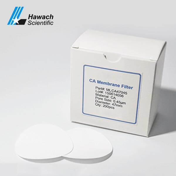 0,45 Мембранные фильтры из ацетата целлюлозы (CA)